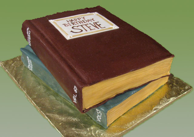 how to make an open book cake