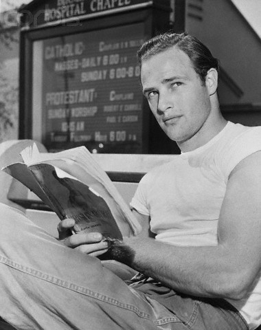 B is for Brando the Bookworm